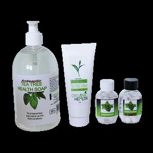 Organic health Tea Tree Range